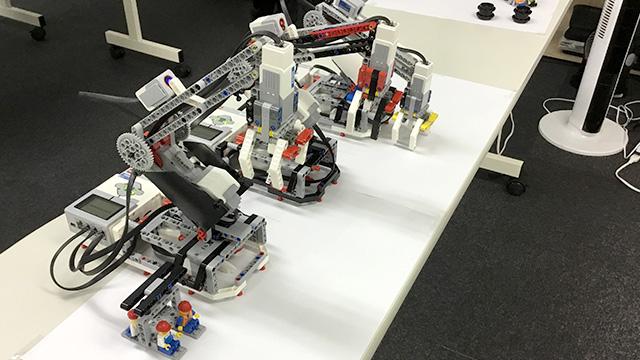 EV3 ロボット アームH25 3台