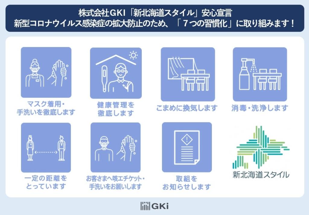 GKI新北海道スタイル安心宣